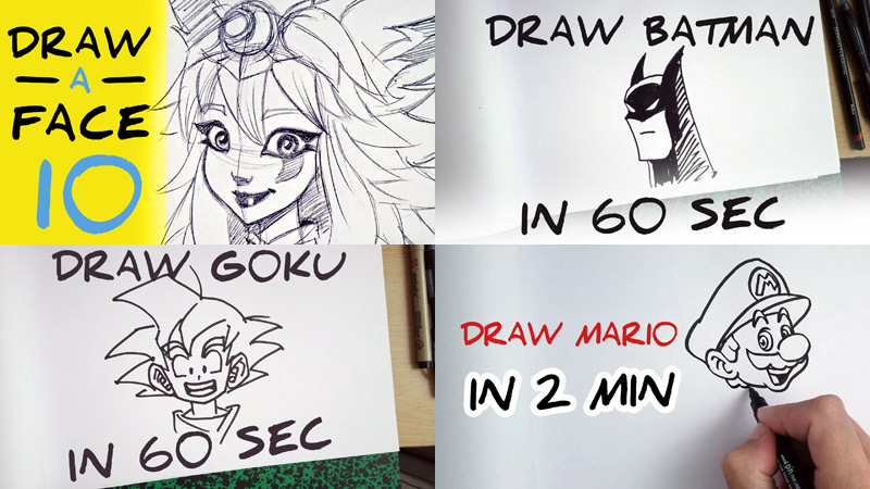 Tutorials How to draw easy step by step